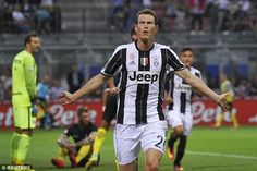 Stephan Lichtsteiner gave the away team the lead after finishing from close range