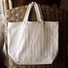 Reusable Shopping Bag  USA Grown Organic Cotton Tote *** Find out more at the image link. #Handmadehandbags