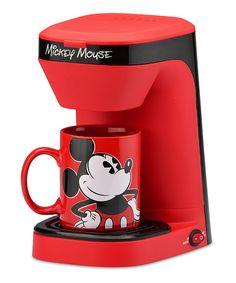 Mickey Mouse Coffee Maker Cozinha Do Mickey Mouse, Mickey Mouse Mug, Mickey Mouse Kitchen, Mickey Mouse Images, Disney Mickey Mouse, Mickey Mouse House, Casa Disney, Disney Rooms, Disney House