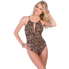 c44531a6eebb8 Magicsuit by Miraclesuit Cougar Kat One Piece Brown Brown One Piece
