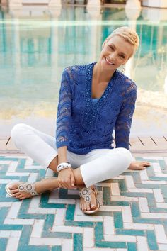 The NEW Sweater Tunic #chicos