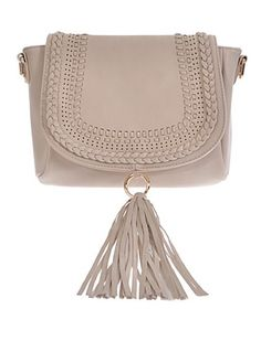 fun designer inspired handbag that you can use for nay occassion! Fun tassel and zipper top. Features inside pocket and removable strap. Ivory or Mustard.  * 11W*7H*2.5D * Polyurethane, mixed metal | Shop this product here: spreesy.com/shoptopshelfwardrobe/1729 | Shop all of our products at http://spreesy.com/shoptopshelfwardrobe    | Pinterest selling powered by Spreesy.com