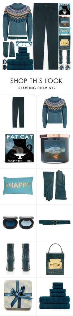 """""""Monday Morning"""" by grozdana-v ❤ liked on Polyvore featuring Temperley London, Carolina Candle, Thro, Lord & Taylor, Carla G., Subella London, Loftex and Gucci"""