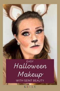 If you love Halloween makeup, you'll love these easy Halloween makeup looks using Seint Beauty products! Check out how to create a makeup look for a Mermaid, Fawn, and Leopard. Anyone can do these fun Halloween looks thanks to my simple directions and makeup you have at home in your drawer! A great last minute Halloween dress up idea for kids and adults. Halloween Dress Up Ideas, Cute Halloween Makeup, Halloween Looks, Easy Halloween, Halloween Hair, Maskcara Makeup, Maskcara Beauty, Make Up Looks, Blush Makeup