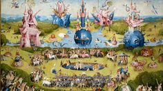 Jheronimus Bosch, Touched by the Devil TRAILER  This is an interactive documentary featuring The Garden of Earthly Delights in high def, narrated, clickable bits and pieces so you can get super close.