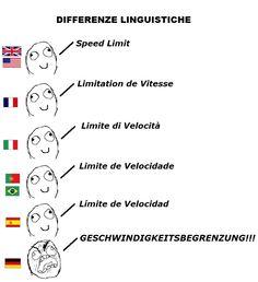I love German though.