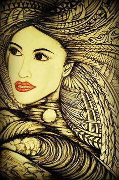 hawaiian tattoos designs and meanings Polynesian Art, Polynesian Culture, Polynesian Tattoos, Samoan Patterns, Hawaiian Tribal Tattoos, Hawaiian Art, Tattoo Designs And Meanings, Samoan Tattoo, Amazing Art