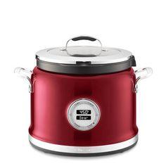 KitchenAid 4-Qt. Stainless-Steel Multicooker with Steam Roast Rack #williamssonoma