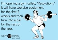 lol HATE when the gym is crowded after new years/ before spring break