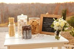 front porch farms, nashville wedding, fall, mrs. j's baking and catering #southernweddingfood #nashvillewedding smores