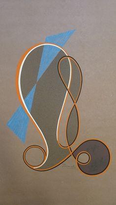 domela nieuwenhuis | Domela (Domela-Nieuwenhuis), César (1900-1992). - Untitled.