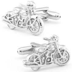 TOPSELLER! Harley Davidson Motorcycle Cufflinks-... $19.95
