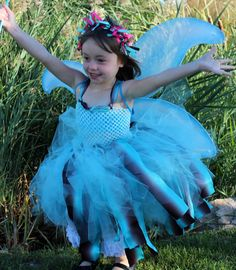 Water fairy 4 piece costume inspired by by Passion4Expression, $69.00