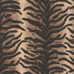 Papier peint Tigre 6632-14 A.S. Création Dekora Natur 6 - BRICOFLOR