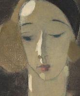 Helene Schjerfbeck (1862-1946) was een Fins kunstschilderes. In haar jonge jaren reisde Helene veel naar het buitenland. In 1880 verbleef ze in Parijs. Van 1897 tot 1889 leefde ze in Cornwall. In deze tijd maakte ze vooral veel landschappen en zelfportretten. Na de zomer van 1889 ging Schjerfbecks terug naar Finland en opende een atelier te Helsinki. In deze periode schilderde ze haar bekendste werken, vooral veel vrouwenportretten, vaak ook weer zelfportretten. Helene Schjerfbeck, Abstract Portrait, Portrait Art, Expressionist Artists, Religious Paintings, True Art, Gravure, Life Drawing, Figure Painting