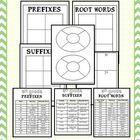 5th Grade CCSS Word Work for Interactive Notebooks (Prefix