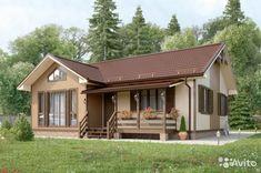 Дом 80 м² на участке 10 сот.— фотография №1