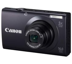 Canon PowerShot IS MP Digital Camera with Optical Image Stabilized Zoom Wide-Angle Lens with HD Video Recording and Touch Panel LCD (Black) Canon Ixus, Screen Recorder, System Camera, Optical Image, Canon Powershot, Wide Angle Lens, Zoom Lens, Hd Video, Digital Camera