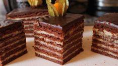 prajitura-cu-foi-de-cacao Food Cakes, Cacao, Tiramisu, Cake Recipes, Cake Decorating, Food And Drink, Sweets, Cookies, Ethnic Recipes