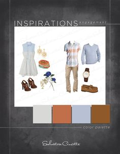 What to wear to an engagement shoot Which color palette works best together Casual Engagement Outfit, Engagement Photo Outfits, Engagement Shoots, Clothing Photography, Couple Photography, Engagement Photography, Photography Ideas, Engagement Inspiration, Engagement Ideas