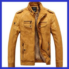 Cheap pilot leather jacket, Buy Quality brand leather jacket men directly from China fashion leather jackets men Suppliers: Male Motorcycle Fashion Leather Jacket Men Winter Pilot Leather Jackets And Coats Biker Mantel Mens Faux Fur Coat Brand Clothing Pilot Leather Jacket, Pu Jacket, Jacket Men, Jacket 2017, Suede Jacket, Velvet Jacket, Jacket Style, Hooded Jacket, Winter Leather Jackets