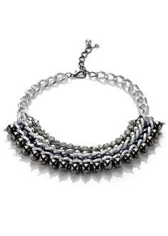 The Glööckler silver necklace - Shoes & Accessories - bonprix.fr