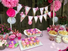 Baby girl's first birthday party!