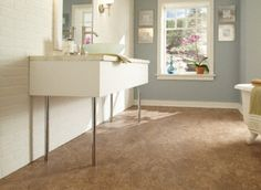 Tranquility- Venetian Cream Click Resilient Vinyl...beautiful and easy to install