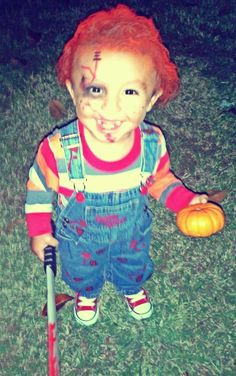 Diy halloween costumes pt 3 diy halloween halloween costumes last year 2013 halloween i made a diy chucky from childs play costume for solutioingenieria Images