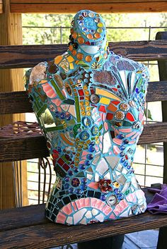 cool cool cool                                                                                                            Mosaic Bust             by        Pandorea...      on        Flickr