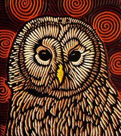 'Small Barred Owl' by Lisa Brawn