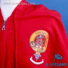 MacLaine clan Crest Sweatshirt. Free worldwide shipping available