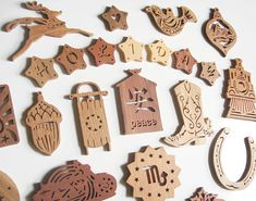 75 Scroll Saw Christmas Holiday Ornament Patterns - Instant PDF Email Digital…