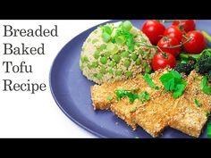 Breaded Baked Tofu Recipe (Vegan & Gluten-free) - YouTube