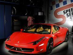 Ferrari 458 Italia on Arkym Wheels