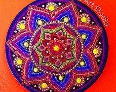 Mandala on Canvas - Original Artwork