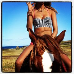 Rookie on horseback, shoot 5