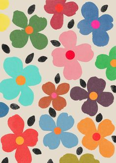 Dogwood_1 - Art Print by Garima Dhawan / Society6