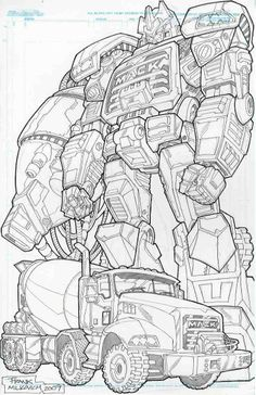 Transformers 3 Shockwave Coloring Pages | ... View topic - Crobot91's G1 Shockwave & Micromaster Whisper Commission
