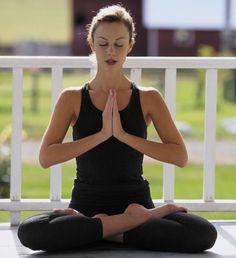 Padmasana Namaste