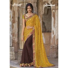 Immediately update your wardrobe with eye-catching #BrassoSaree only from #LaxmipatiSarees@ http://bit.ly/1Uj8vin