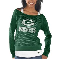 Green Bay Packers Womens Holy Long Sleeve T-Shirt and Tank - Green