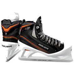 Bauer Elite Goalie Skates @ http://goalie.totalhockey.com/product/Elite_Goalie_Skates/itm/9186-41/  $399.99