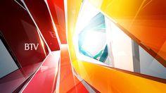Beijing TV by Yuan Yuan, via Behance