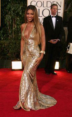 Beyonce Knowles in Elie Saab, 2007 Golden Globes