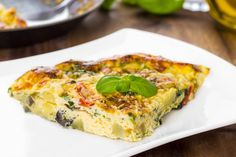 Spinach Frittata | The Dr. Oz Show | Follow this Dr. Oz Recipe board Now and Make it later!