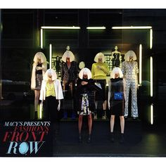 "MACY'S,Chicago,USA, ""Macy's Presents:Fashion's Front Row"", photo by Sylvia Q.,  pinned by Ton van der Veer"
