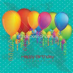 Buon Compleanno — Vettoriali Stock © grgroupstock #30528905