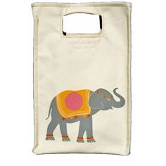 lunch totes- how cute is this elephant?!