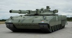 T 14 Armata (2014) Russian new main battle tank. The turret is made of ceramic composites ... so not might be easily affected by the anti-tank cumulative missiles.